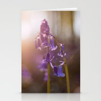 Bluebell Flowers Stationery Cards