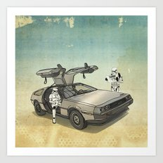 Lost, Searching For The … Art Print