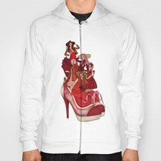 Ladies In Red Hoody