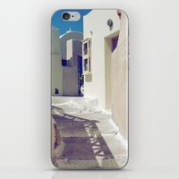Santorini Walkway II iPhone & iPod Skin