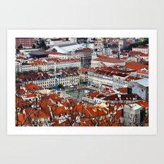 Lisbon 5 Art Print