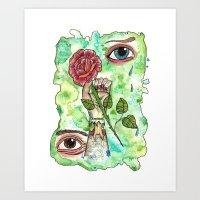 [untitled] Art Print