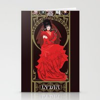 Lydia Nouveau - Beetlejuice Stationery Cards