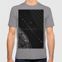 Interstellar Mens Fitted Tee Athletic Grey SMALL