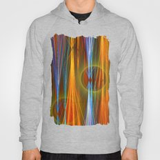 Mirthful, colourful abstract Hoody