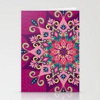 Mandala Bloom Stationery Cards