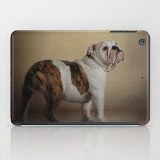 I Think I Smell A Treat - Bulldog Puppy iPad Case