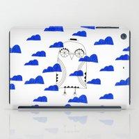 Blue Clouds iPad Case