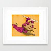 You're toast Framed Art Print