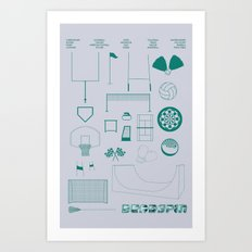 Essence Of Deadspin Art Print