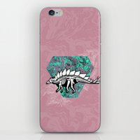 Stegosaur Fossil iPhone & iPod Skin