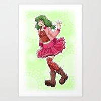 Sugar Pie Art Print
