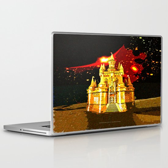 GOLDEN CASTLE-005 Laptop & iPad Skin
