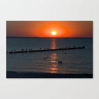 Holy Sunset On The Balti… Canvas Print