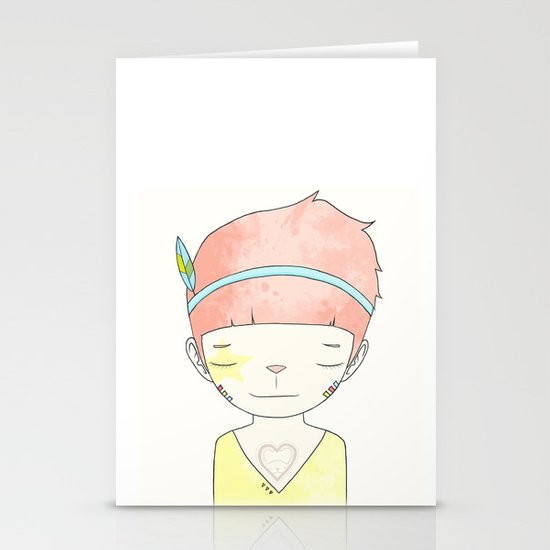 WHEN I LOST EVERYTHING Stationery Card