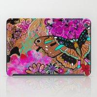Neon Butterflies iPad Case