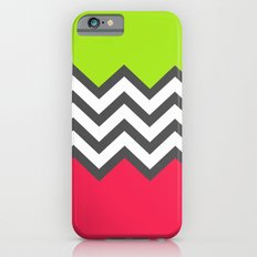 Color Blocked Chevron 5 iPhone 6s Slim Case