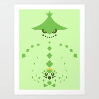 Pocket Monster 331 And 3… Art Print