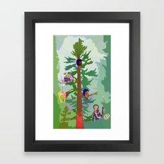 Nestor Tidcu Framed Art Print