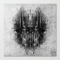 Dark Thoughts - Sauron Canvas Print