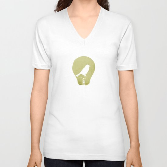 ideas take flight V-neck T-shirt