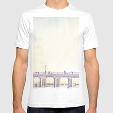 California Dreamin' in NY Mens Fitted Tee White SMALL