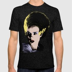 The Beautiful Bride of Frankenstein Mens Fitted Tee Tri-Black SMALL