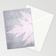 PRESSED LEAF Stationery Cards