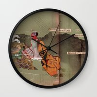 Read the Directions Wall Clock