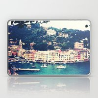 A vintage day in Portofino Laptop & iPad Skin