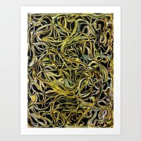 A Tangle Of Vines Art Print