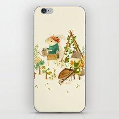 Critters: Summer Gardening iPhone & iPod Skin