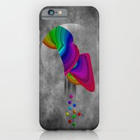 iPhone & iPod Case featuring Over the rainbow by gwenola de muralt