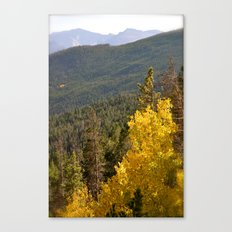 Here Comes Fall Canvas Print