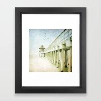 Drift Away Framed Art Print