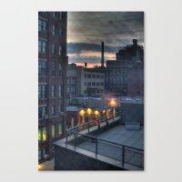 A Dumbo Sunrise Canvas Print