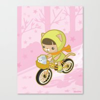 Blossom Ride Canvas Print