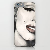 iPhone & iPod Case featuring Marilyn Monroe by HOMartistry