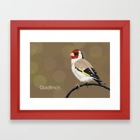 Goldfinch Framed Art Print