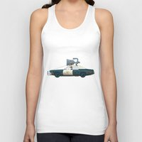 The Blues Brothers Bluesmobile 3/3 Unisex Tank Top