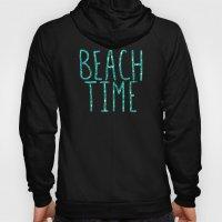 Beach Time Aqua Hoody