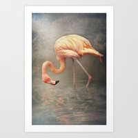 Walking in a dream.. Art Print