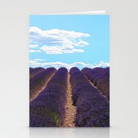 PROVENCE - Lavender   France   Travel   Summer   Purple   Nature   Landscape Stationery Cards