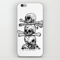 Skull Totem iPhone & iPod Skin