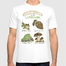 Uncommon Plants Of The Lumberwood White SMALL Mens Fitted Tee