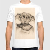Free Elf Full Length Mens Fitted Tee White SMALL
