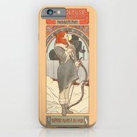 iPhone & iPod Case featuring The flame-haired spearwife by ElinJ