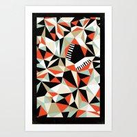 Bebop Butterfly Art Print
