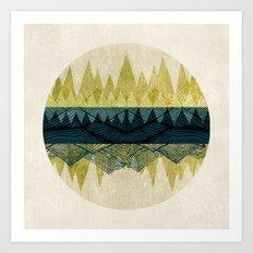 Exhale Art Print