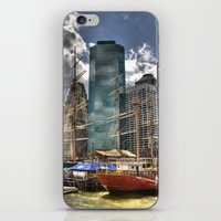 NYC Harbor, south seaport iPhone & iPod Skin